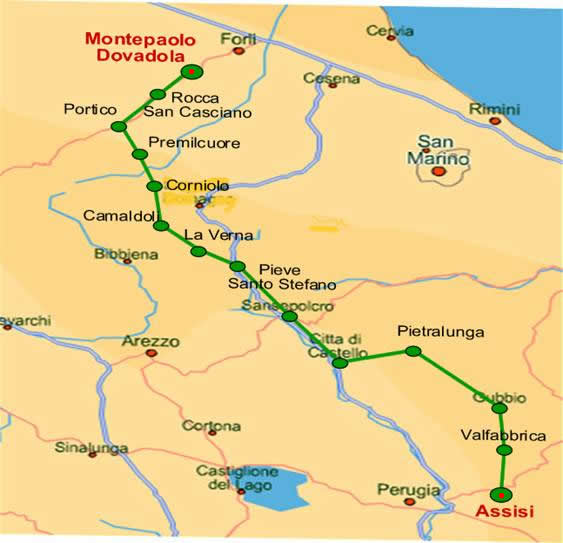 Pilgrim Route to Assisi
